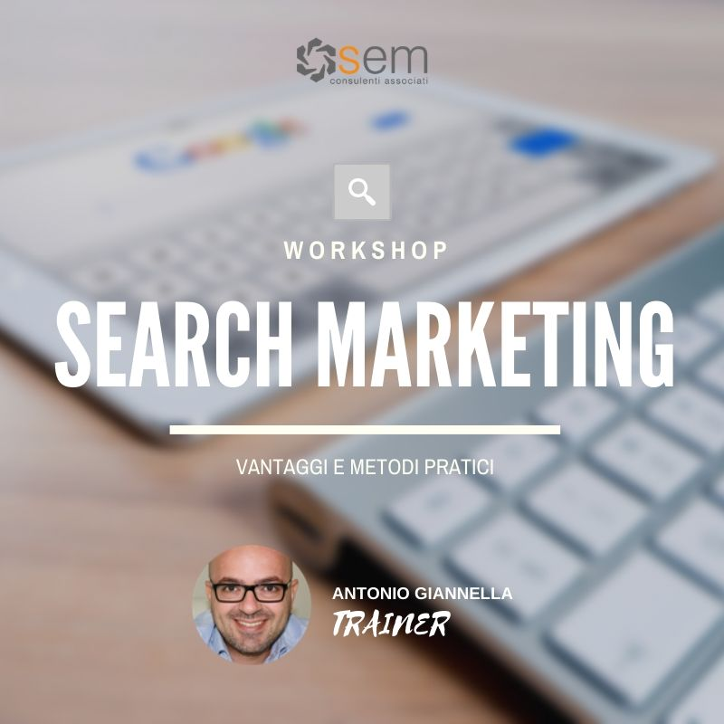 workshop search marketing semca giannella
