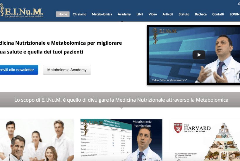 web marketing medicina nutrizionale