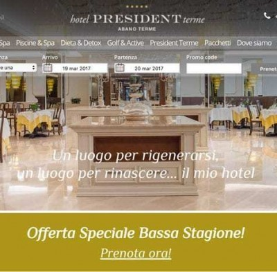 web marketing per hotel lusso