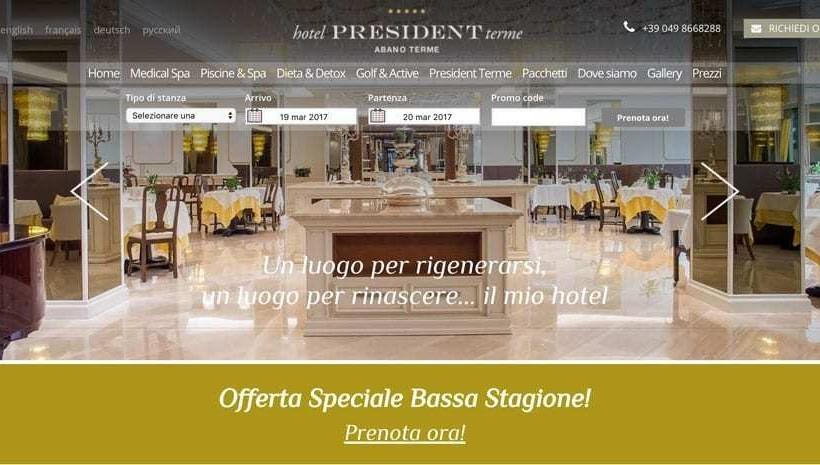 web marketing per hotel lusso