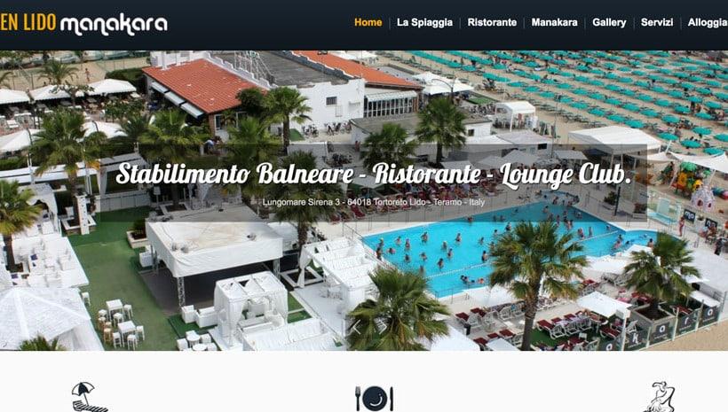 web marketing stabilimenti balneari e ristoranti