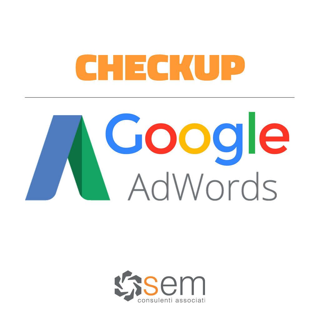 checkup adwords