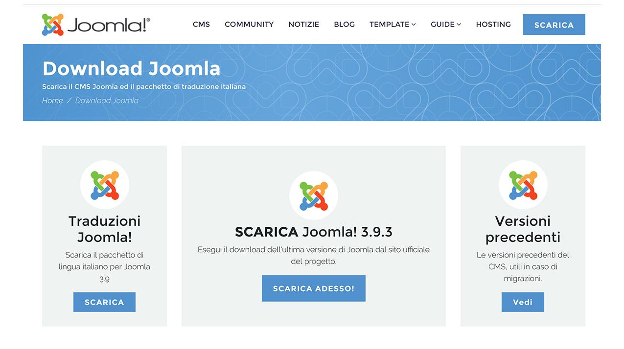 seo joomla cms creazione siti web