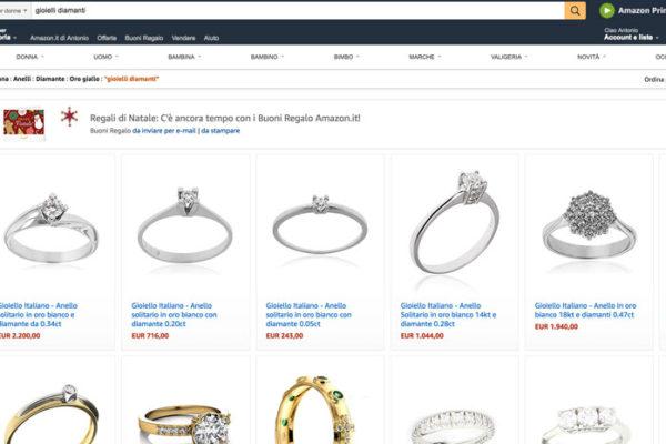 vendere su amazon gioielli