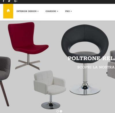 creazione siti web ecommerce arredamento semca