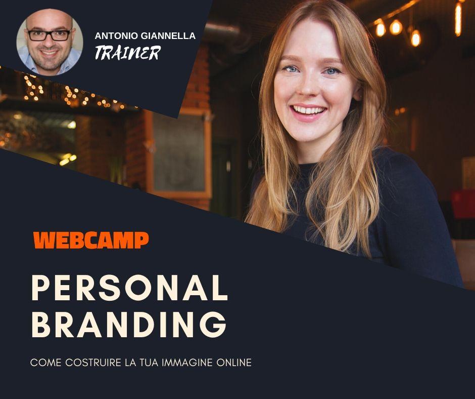 personal branding webcamp giannella