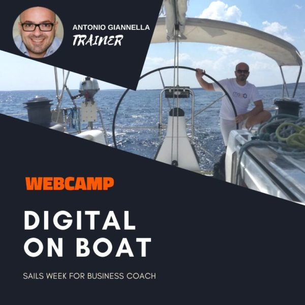 webcamp digital on boat